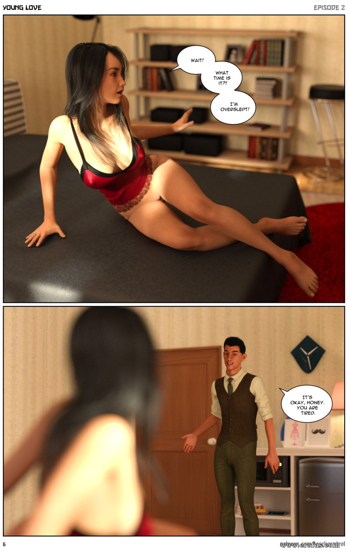 3Dx Porn Game page 6 | various-authors/hijab-3dx-losekorntrol/young-love