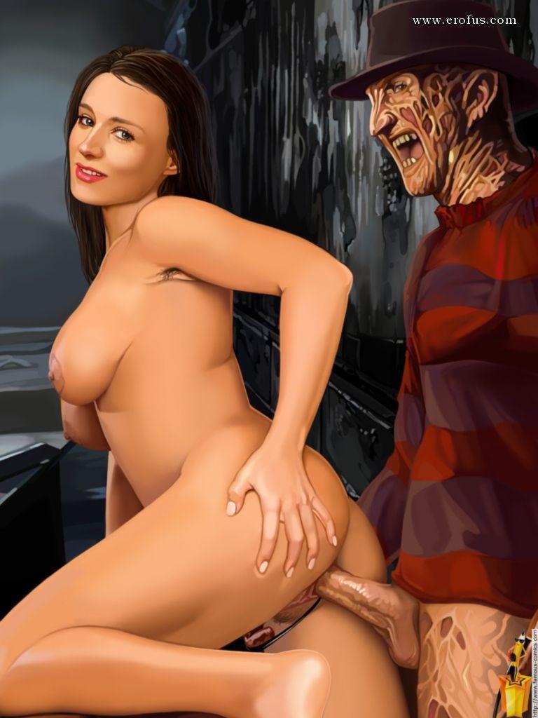 Girls from nightmare on elm street nude