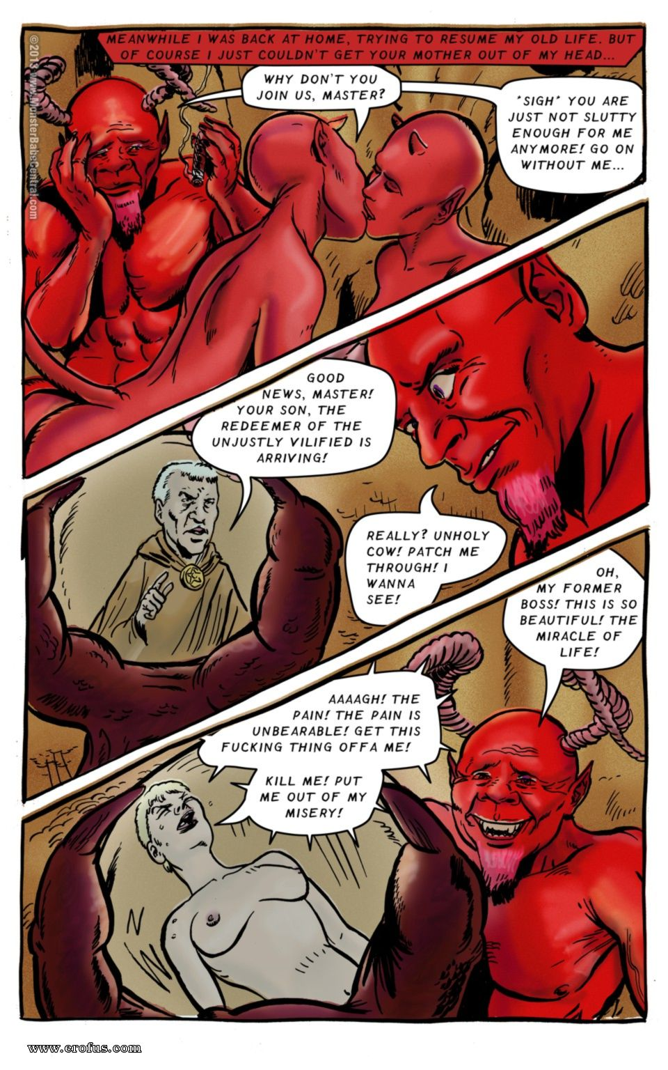 Babe Channel Porn page 68   central-comics/monster-babe-central/monster
