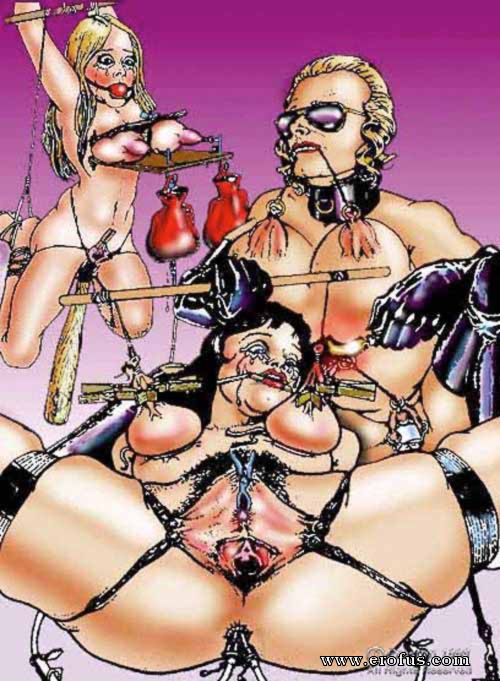 Wife bondage comics