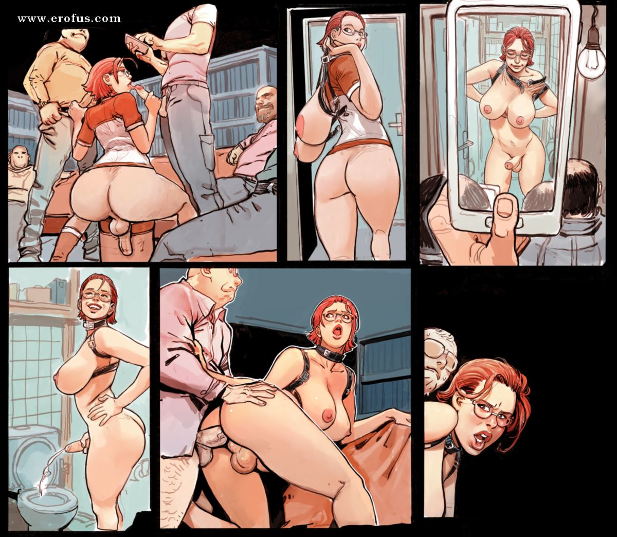 Sweet Sex Comics Diva Is Forced To Fuck Hard