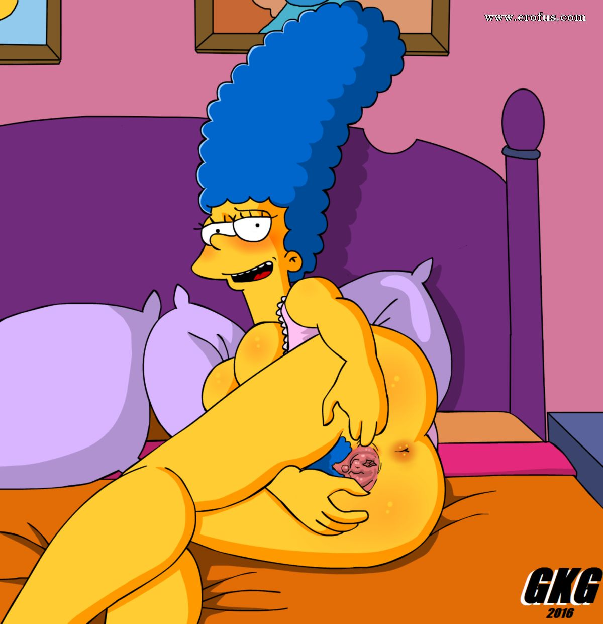 Lisa simpsons wet pussy
