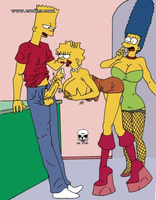 Nasty busty lisa simpson fear