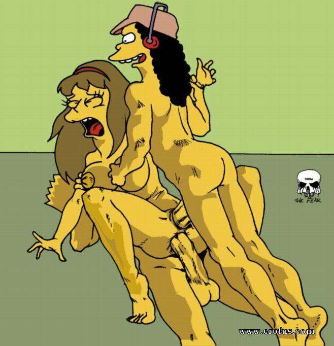 The simpsons try gay sex gallery