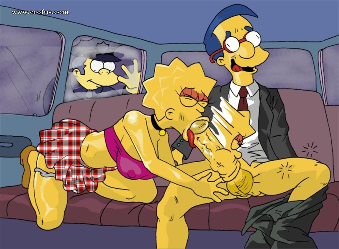 Hot Bdsm Night In Simpsons Family