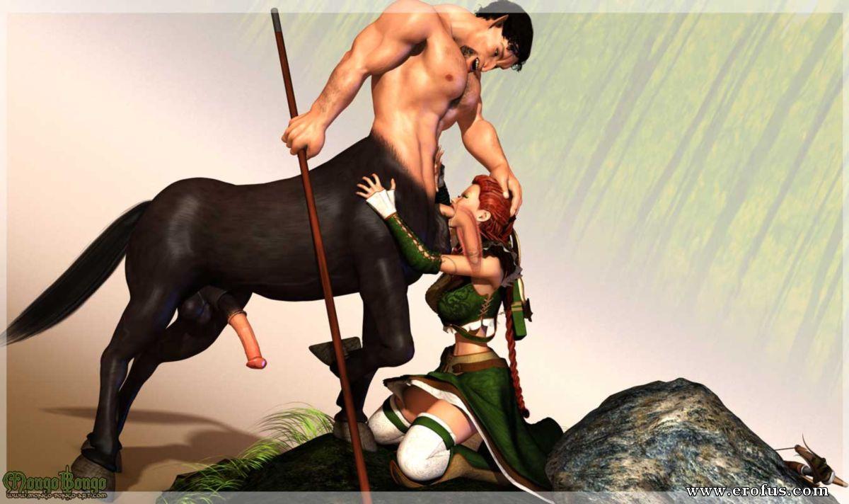 Reisen Centaur Sex Comic