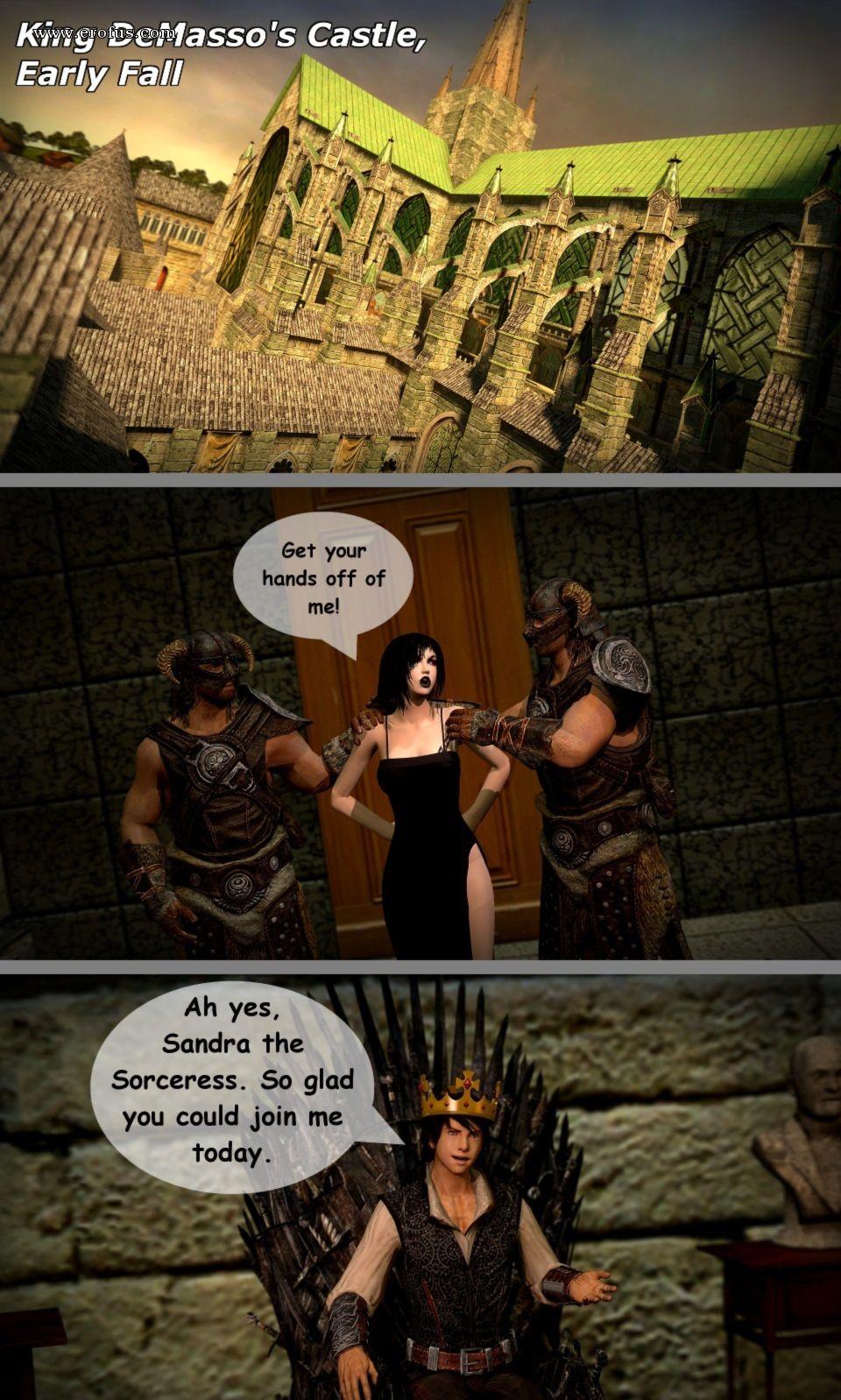 Porn King Castle page 2 | aughterkorse-comics/the-futanari-king | erofus