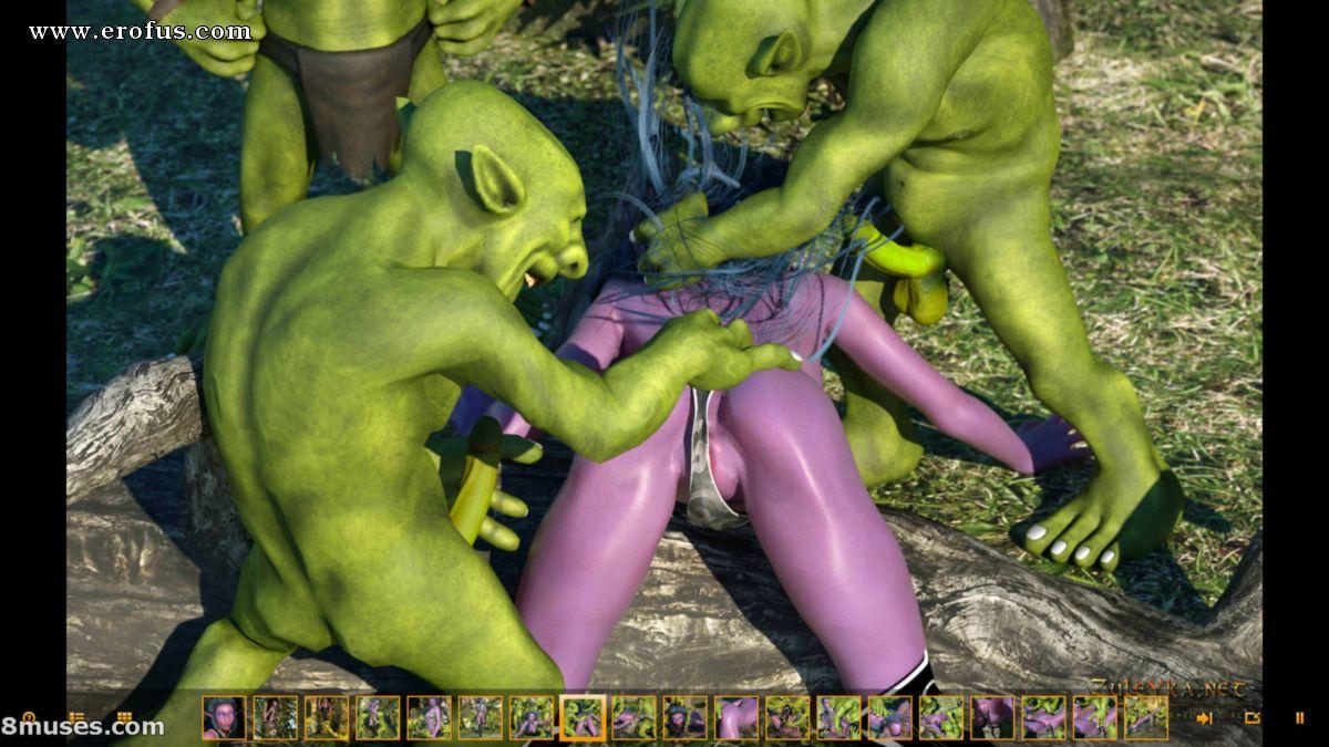 Порно мульт гоблинов