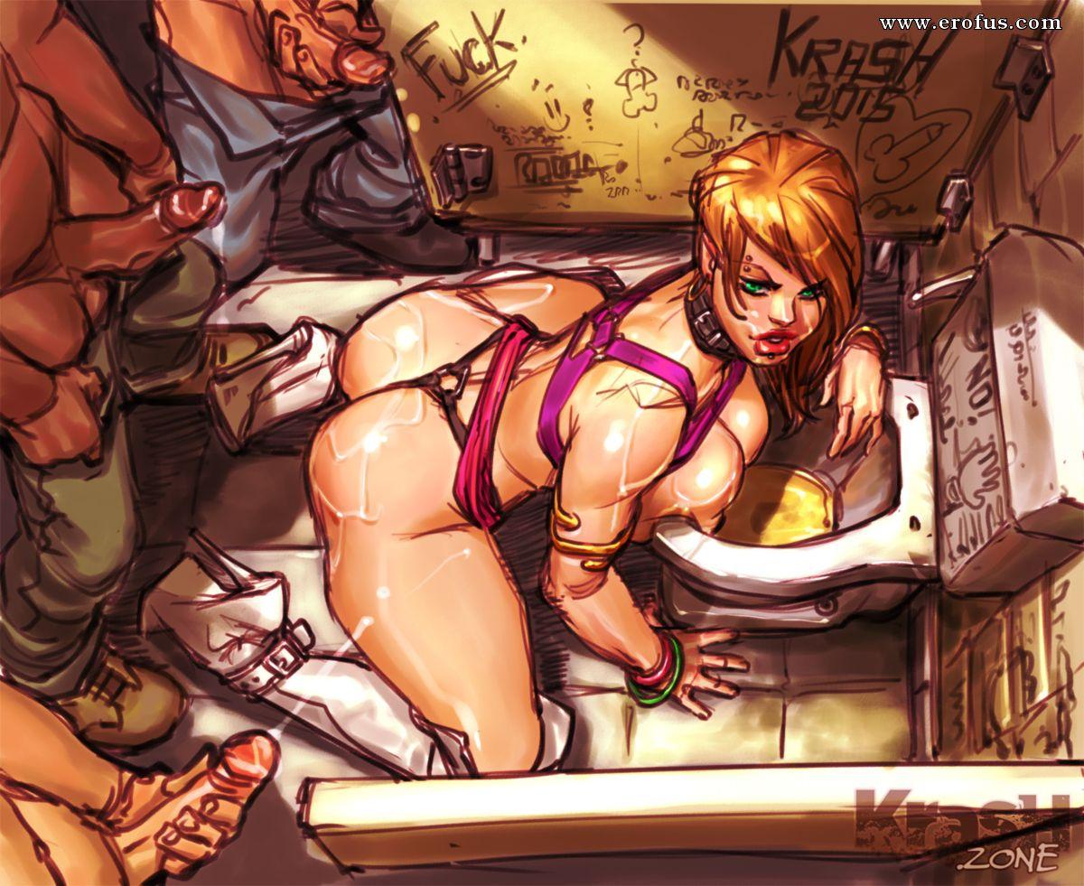 Porn Comic Hardcore Artwork Collection