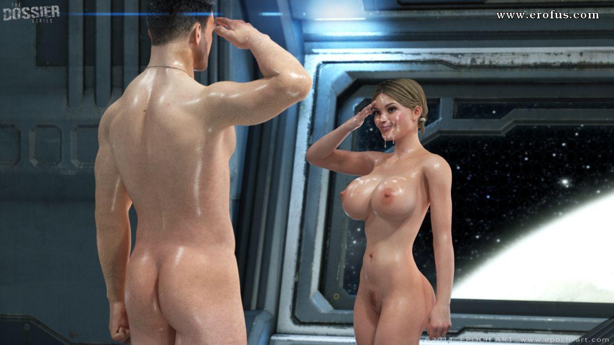Девушкой с космосе смотреть сексуальной в порно