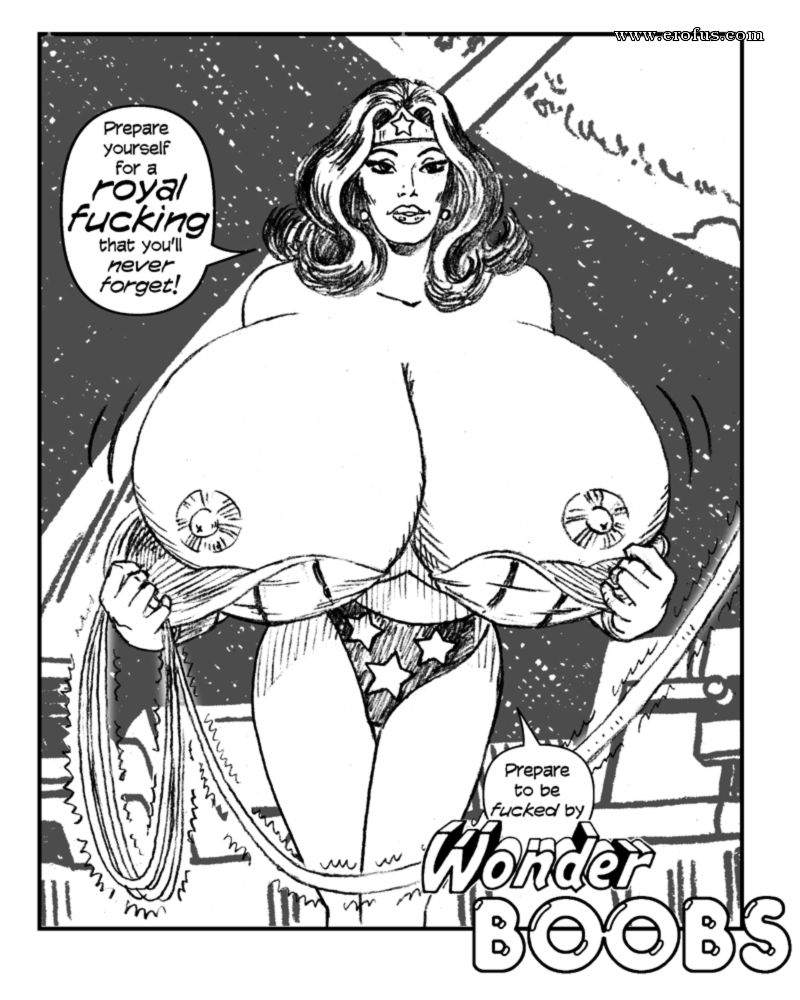 Wonder boobs expansion comics