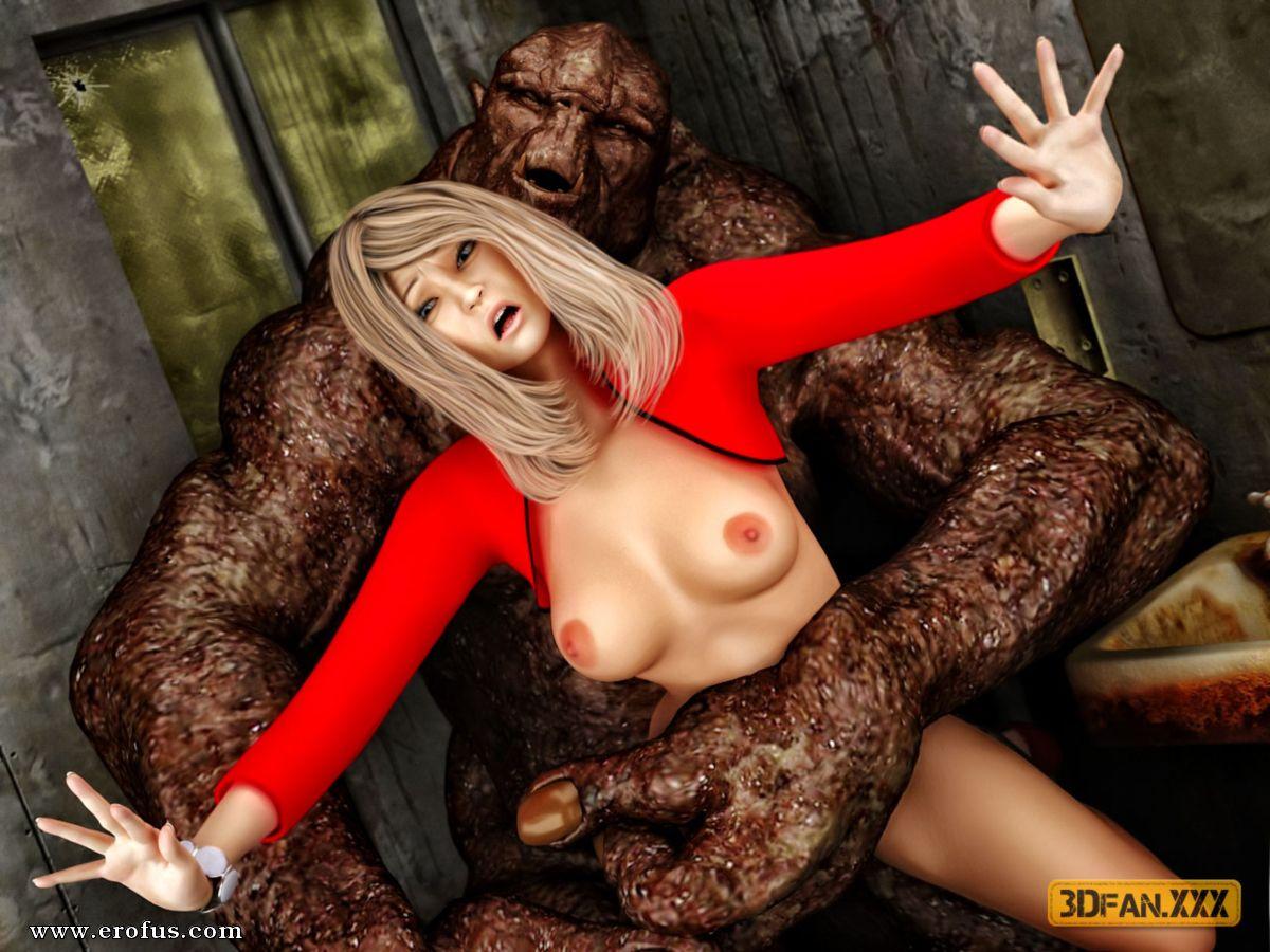 Хуй мутант онлайн, Чернобыльский мужик-мутант натягивает на свою 29 фотография