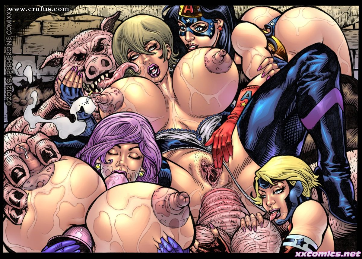 Sex superheroines