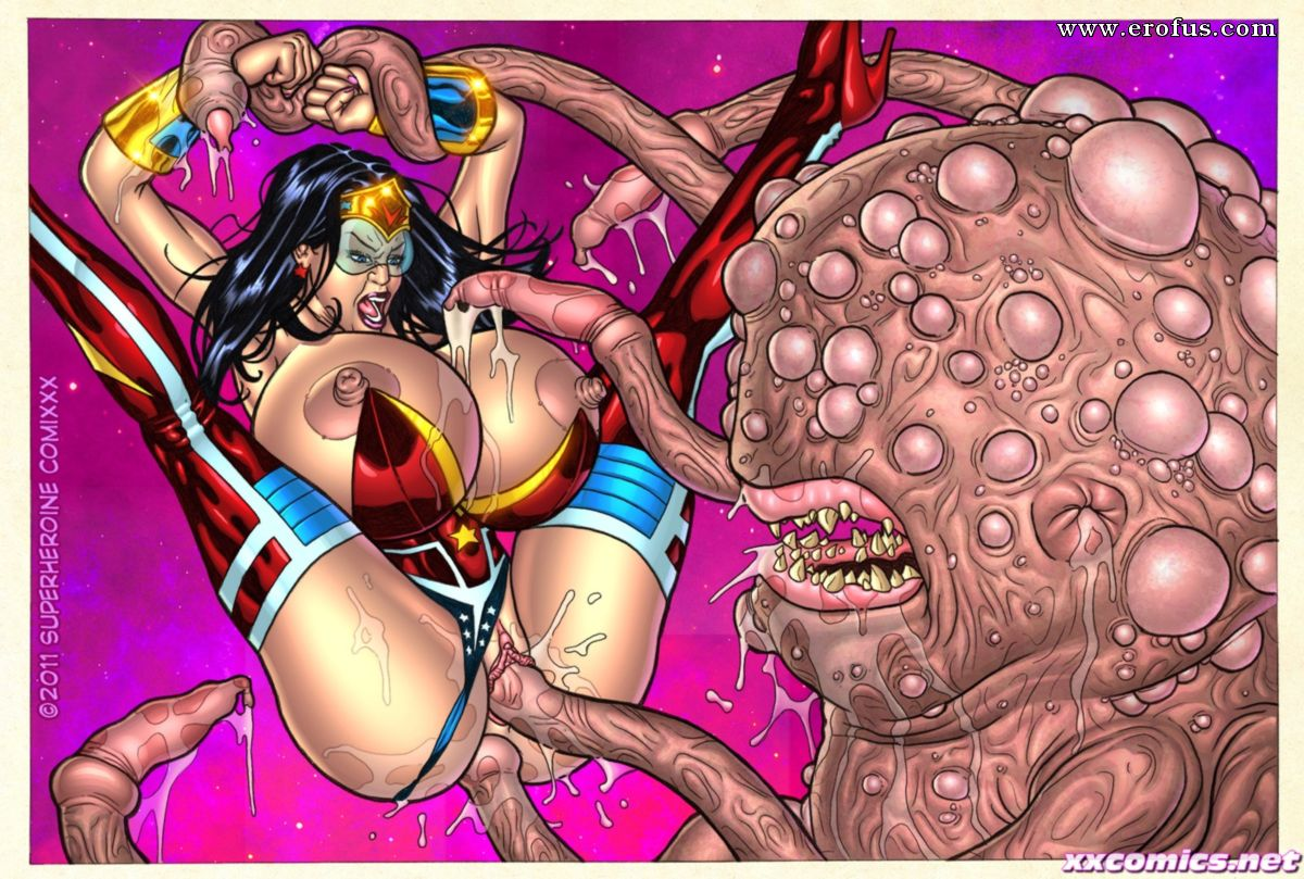 Superheroine porn comics