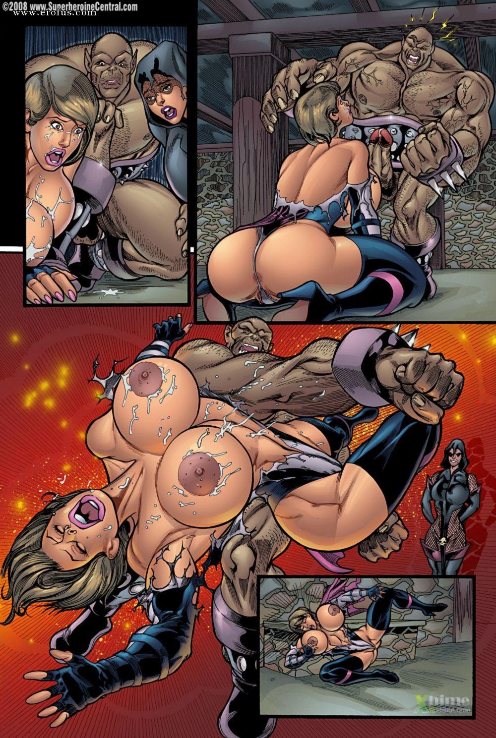 Superheroines Enslaved
