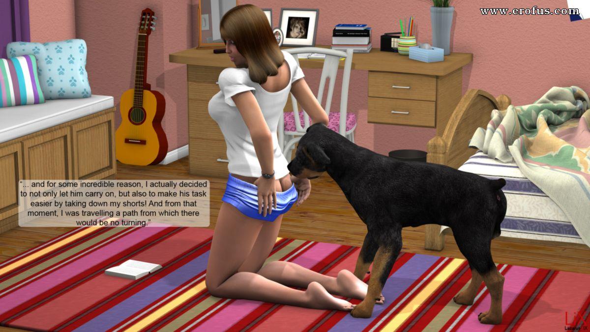 Family  Girls  Dog