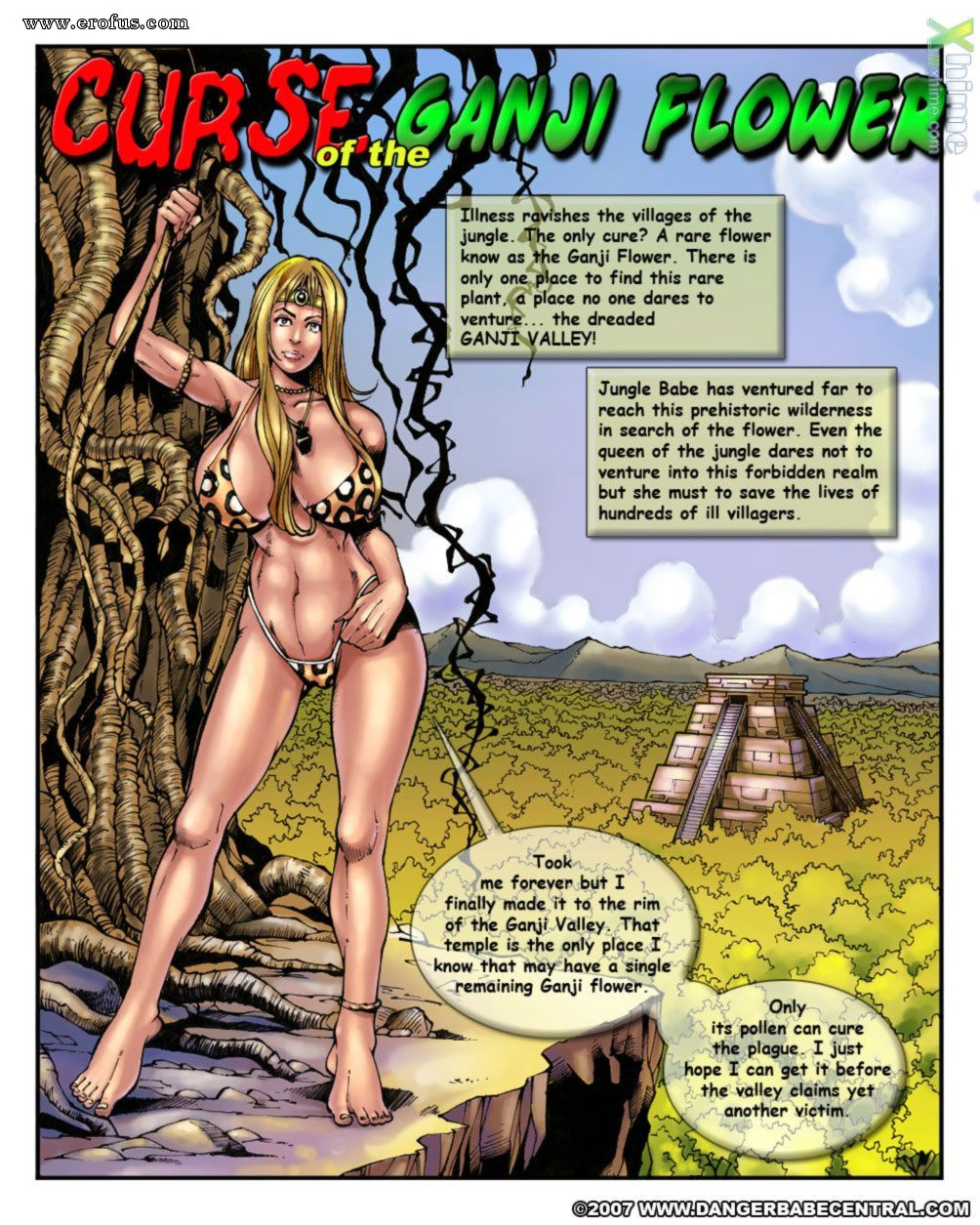 2D Sex Comics page 2 | central-comics/danger-babe-central/2d/jungle-babe