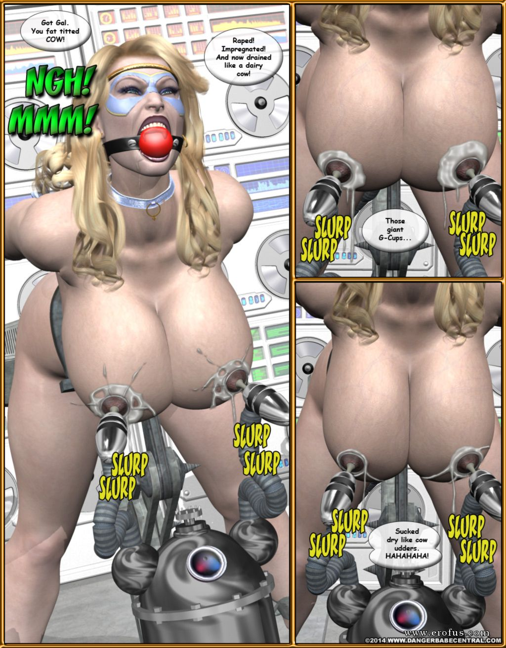 image 3d cartoon mutant babe gets fucked hard outdoors