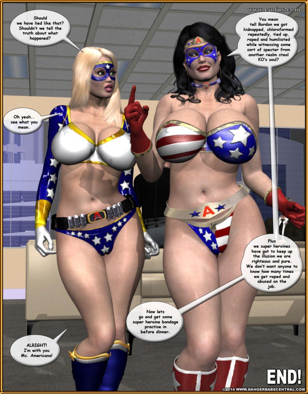 Watch superheroines