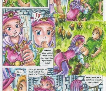 Cartoon sexe Zelda gay les garçons avec gros Dick
