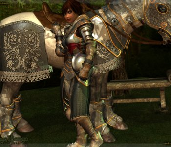 Bretonnia Knight and Horse
