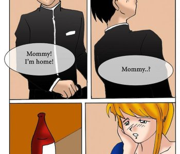 Drunk sonny saved his mom