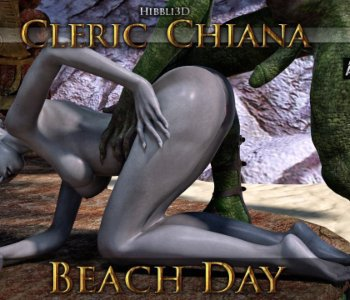 Cleric Chiana - Beach Day - Part 5