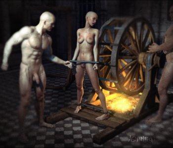 Erektion in der sauna