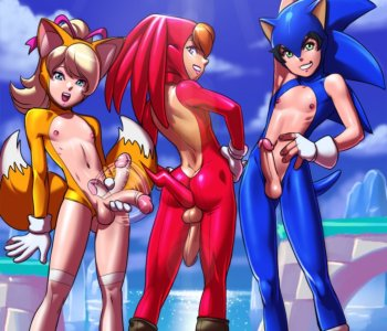 Tekuho - Sonic Tails Knuckles