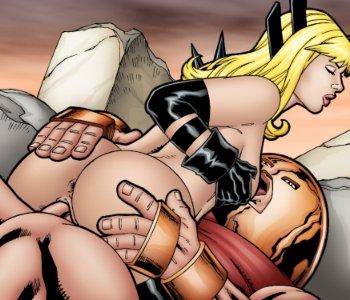 Batgirl leandro porn comics