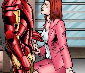 Iron man porno