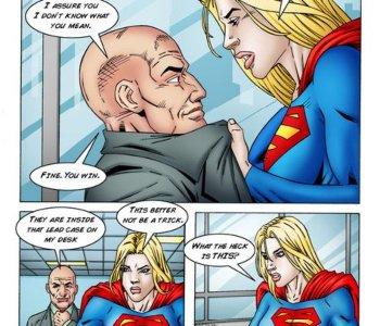 Supergirl porno Comics lesbisn Free Porn