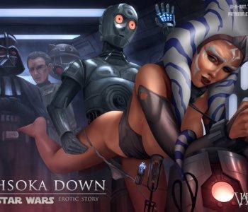 Hvězdné války ahsoka porno komiks