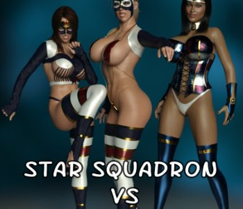 Star Squadron vs the Showmaster