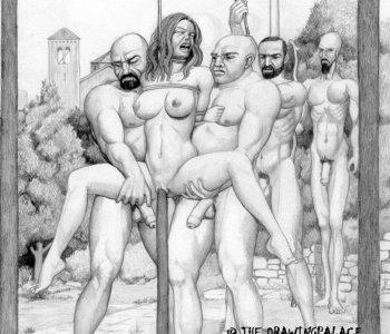 Torture comics porn